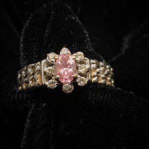 Beautiful Pink Vintage Ring